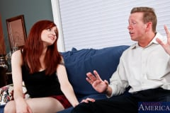 Phoenix Askani and Mark Wood in Naughty Bookworms (Thumb 02)