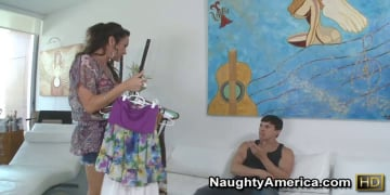 Michelle Lay and Anthony Rosano in My Friends Hot Mom