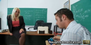 Alexis Golden and Danny Mountain in My First Sex Teacher