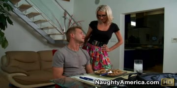 Emma Starr and Bill Bailey in My Friends Hot Mom