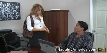 Brooklyn Lee and Marco Banderas in Naughty Office