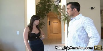Jennifer White and Billy Glide in Naughty Rich Girls