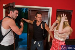 Kagney Linn Karter, Johnny Castle and Charles Dera in My Dad's Hot Girlfriend (Thumb 01)