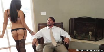 Audrey Bitoni and Tommy Gunn in My Wife's Hot Friend