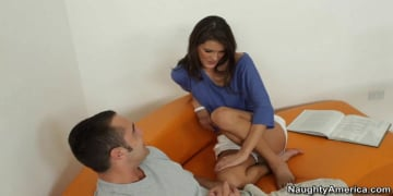 Erin Stone  and Daniel Hunter in My Sisters Hot Friend