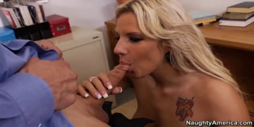 Lylith LaVey and Chris Johnson in Naughty Office