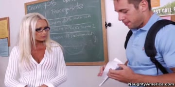 Diana Doll and Johnny Castle in My First Sex Teacher