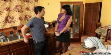 Eva Karera and Kris Slater in My Friends Hot Mom