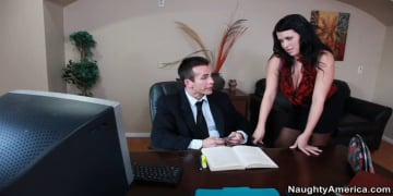Lacie James and Talon in Naughty Office