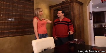 Maya Hills and Anthony Rosano in My Wife's Hot Friend