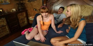 Jessie Rogers and Bruce Venture in My Sisters Hot Friend