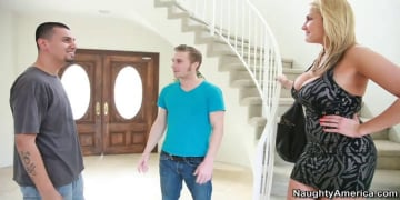 Alanah Rae and Michael Vegas in My Friend's Hot Girl