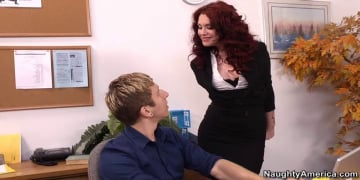 Andy San Dimas and Danny Wylde in Naughty Office