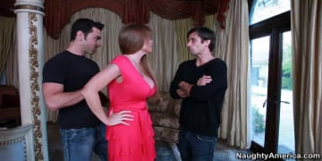 Darla Crane, Alan Stafford and Ryan Driller in My Friends Hot Mom
