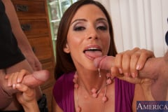 Ariella Ferrera, Johnny Castle and Danny Wylde in Seduced by a cougar (Thumb 06)