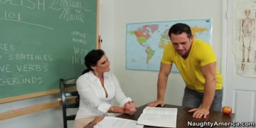 Phoenix Marie and Johnny Castle in My First Sex Teacher