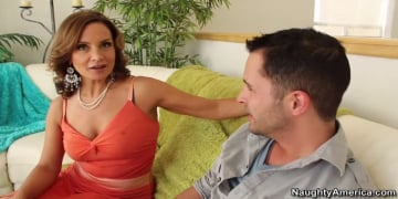 Rebecca Bardoux and Kris Slater in My Friends Hot Mom