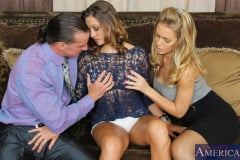 Carmen McCarthy, Nicole Aniston and Tony DeSergio in 2 Chicks Same Time (Thumb 02)