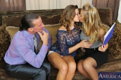 Carmen McCarthy, Nicole Aniston and Tony DeSergio in 2 Chicks Same Time (Thumb 12)