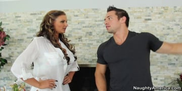 Phoenix Marie and Johnny Castle in My Naughty Massage