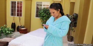 Asa Akira and Mick Blue in My Naughty Massage