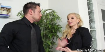 Ashley Fires and Johnny Castle in Naughty Office