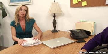 Brandi Love and Bill Bailey in Naughty Office