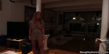 Capri Cavanni and Nicole Aniston in Lesbian Girl on Girl