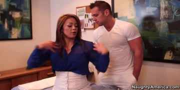 Mia Lelani and Johnny Castle in My Naughty Massage