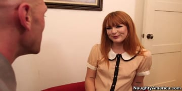 Claire Robbins and Johnny Sins in Naughty Office