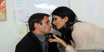 Romi Rain and Alan Stafford in Naughty Office