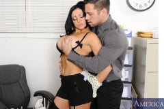 Audrey Bitoni and Johnny Castle in Naughty Office (Thumb 04)