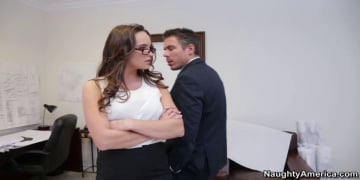 Teal Conrad and Mick Blue in Naughty Office