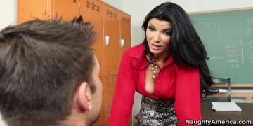 Romi Rain and Johnny Castle in My First Sex Teacher