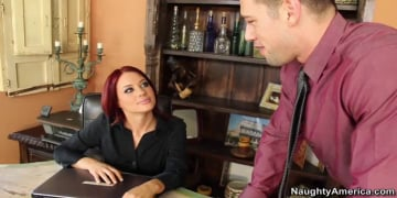 Jessica Ryan and Johnny Castle in Naughty Office