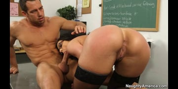 Kendra Lust and Johnny Castle in My First Sex Teacher