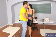 Vanilla DeVille and Johnny Castle in My First Sex Teacher (Thumb 03)