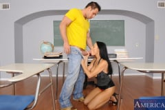 Vanilla DeVille and Johnny Castle in My First Sex Teacher (Thumb 12)
