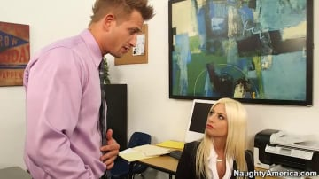 Jessie Volt and Bill Bailey in Naughty Office