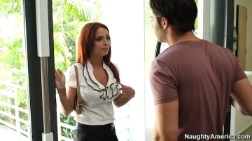 Ashley Graham  and Seth Gamble in My Dad's Hot Girlfriend