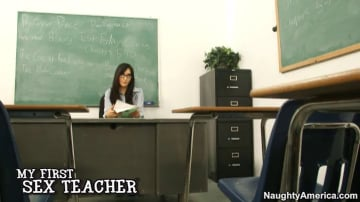 Diana Prince and Danny Wylde in My First Sex Teacher