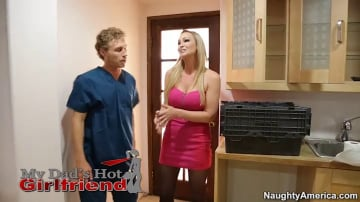 Abbey Brooks and Michael Vegas in My Dad's Hot Girlfriend