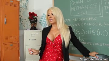 Helly Hellfire  and Johnny Castle in My First Sex Teacher