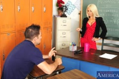 Helly Hellfire and Johnny Castle in My First Sex Teacher (Thumb 01)