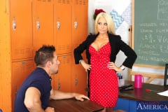 Helly Hellfire and Johnny Castle in My First Sex Teacher (Thumb 02)