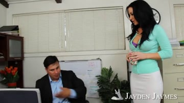 Jayden Jaymes and Anthony Rosano in Naughty Office