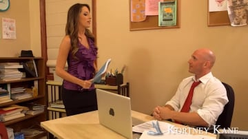 Kortney Kane and Johnny Sins in Naughty Office