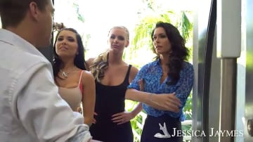 Phoenix Marie, Jessica Jaymes, Romi Rain and Xander Corvus in I Have a Wife