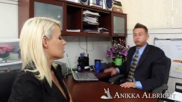 Anikka Albrite and Bill Bailey in Naughty Office