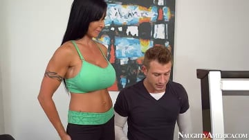 Jewels Jade and Bill Bailey in Seduced by a cougar